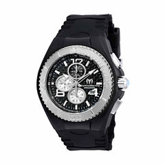 Techno Marine Mens Black Strap Watch-Tm-115307