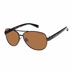 Liz Polarized Full Frame Aviator UV Protection Sunglasses-Womens