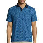 Claiborne® Short-Sleeve Slim-Fit Polo
