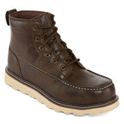 Big Mac Oak Mens Steel Toe Work Boots
