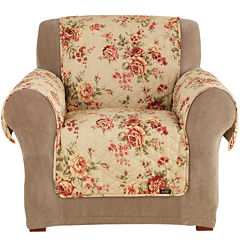 SURE FIT® Lexington Floral 1-pc. Chair Pet Furniture Cover