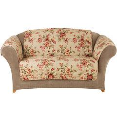 SURE FIT® Lexington Floral Pet Furniture Cover Collection