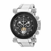 Invicta Mens Silver Tone Bracelet Watch-17646