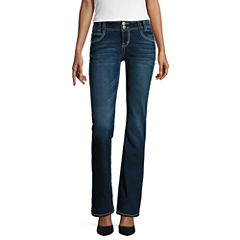 Wallflower Curvy-Fit Bootcut Jeans-Juniors
