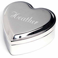Cathy's Concepts Personalized Heart Keepsake Box