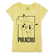 Pokemon Girls Pokemon Graphic T-Shirt-Big Kid
