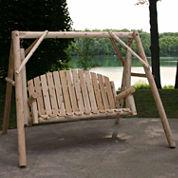 Country Garden Yard Swing