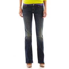 Arizona Bootcut Jeans - Juniors