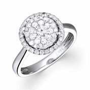 LIMITED QUANTITIES! Womens 3/4 CT. T.W. Round White Diamond 14K Gold Engagement Ring