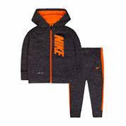 Nike Infant Boys Fleece 2pc Pant Set