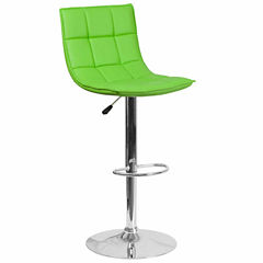 Quilted Vinyl Bar Stool