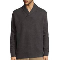 St. John's Bay® Long-Sleeve Shawl Pullover Sweater
