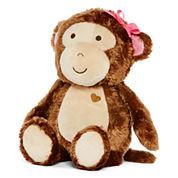Okie Dokie® Monkey Rattle Plush