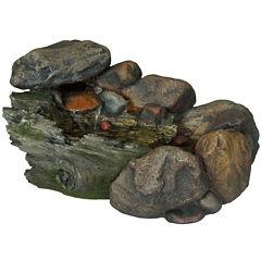 Navarro Cascading Stone Outdoor Fountain