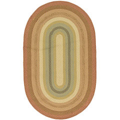 Canyon Reversible Braided Indoor/Outdoor Oval Rug