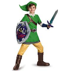The Legend of Zelda: Boys Deluxe Link Costume - S(4-6)