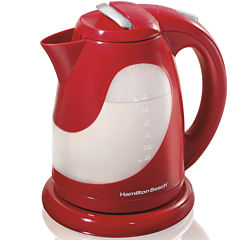 Hamilton Beach® 1.7-Liter Red Electric Kettle