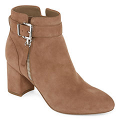 Liz Claiborne Whitley Leather Womens Bootie