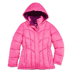 Xersion Girls Heavyweight Puffer Jacket-Big Kid