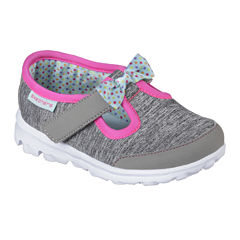 Skechers® Go Walk Bitty Bow Girls Shoes - Toddler