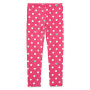 Okie Dokie Dots Denim Leggings - Preschool Girls