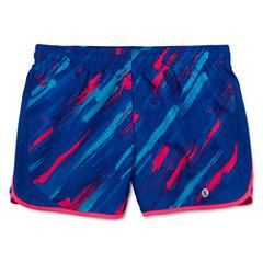 Xersion Pattern Running Shorts - Big Kid Girls