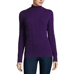 St. John's Bay Turtleneck Pullover Sweater