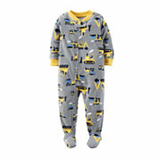 Carter's Boys Long Sleeve One Piece Pajama-Toddler