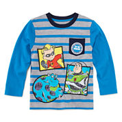 Okie Dokie Pixar Striped T-Shirt - Toddler 2T-5T