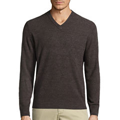 Dockers V Neck Long Sleeve Pullover Sweater