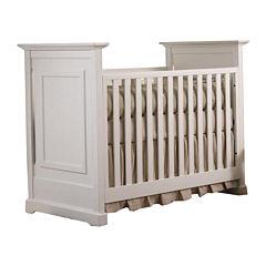 Muniré Furniture Chesapeake Classic Crib - White