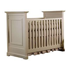 Muniré Furniture Chesapeake Classic Crib - Light Gray