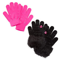 Toby Girls Cold Weather Gloves-Big Kid
