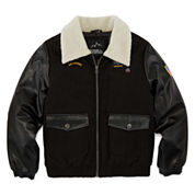 iXtreme Wool Blend Bomber Jacket - Boys 8-18