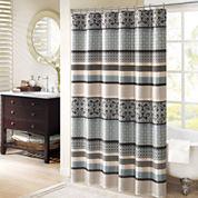 Madison Park Harvard Jacquard Shower Curtain