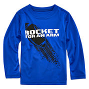 Xersion™ Long-Sleeve Tee - Toddler Boys 2t-5t