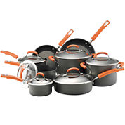 Rachael Ray® 14-pc. Hard-Anodized Nonstick Cookware Set
