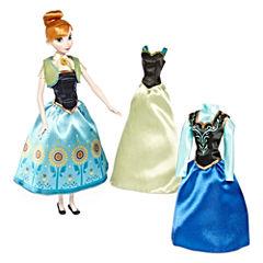 Disney Collection Anna Wardrobe Doll Set