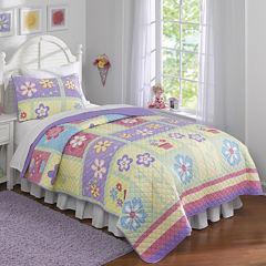 Sweet Helena Floral Quilt Set