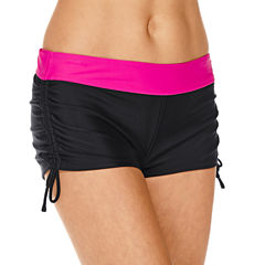 ZeroXposur® Boyshort Swim Bottoms