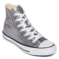 Converse Chuck Taylor All Star Metallic High-Top Sneakers- Unisex Sizing