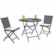 Carolina Chair & Table Cambridge 3-pc. Bistro Set