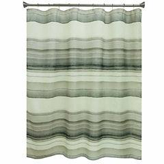 Studio™ Watercolor Stripe Shower Curtain