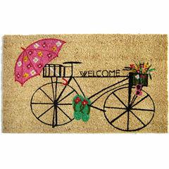 Bicycle Welcome Doormat - 18