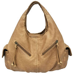 St. John's Bay® Double Shoulder Hobo Bag