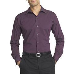 Van Heusen® Long Sleeve Flex Slim Fit Button-Front Shirt