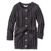 Joe Fresh™ Sweater Coat - Girls 1t-5t
