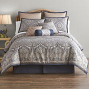 Home Expressions Newport 7-pc. Comforter Set & Accessories