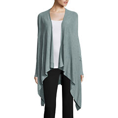 Worthington® Long-Sleeve Y-Back Flyaway Cardigan - Tall