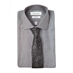 Collection by Michael Strahan Cotton Stretch Dress Shirt - Big & Tall